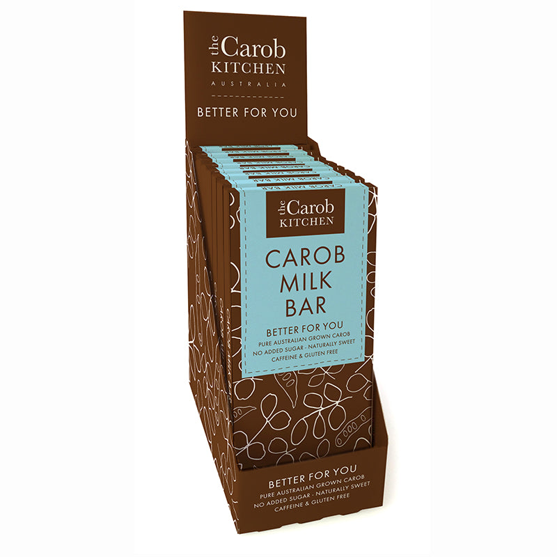 Carob Milk Bar | 12 x Bars
