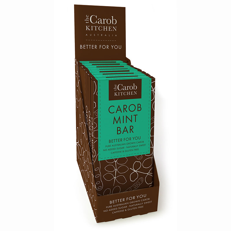 Carob Mint Bar | 12 x Bars