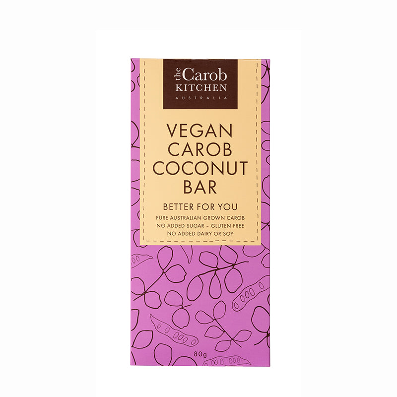 Vegan Carob Coconut Bar
