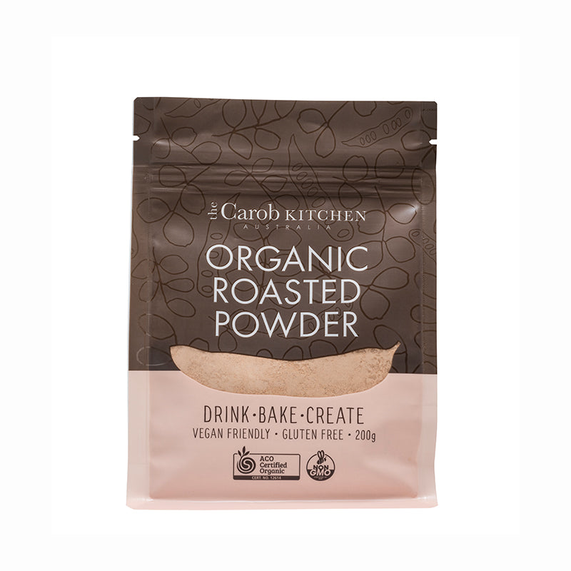 Organic Roasted Carob Powder