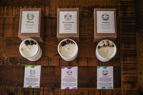 Intention Candle Set
