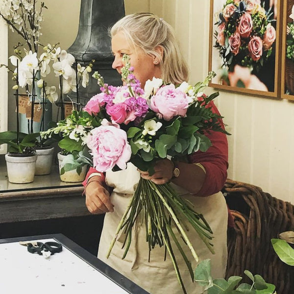 Signature Hand Tied Bouquet Workshop 16th January  2021
