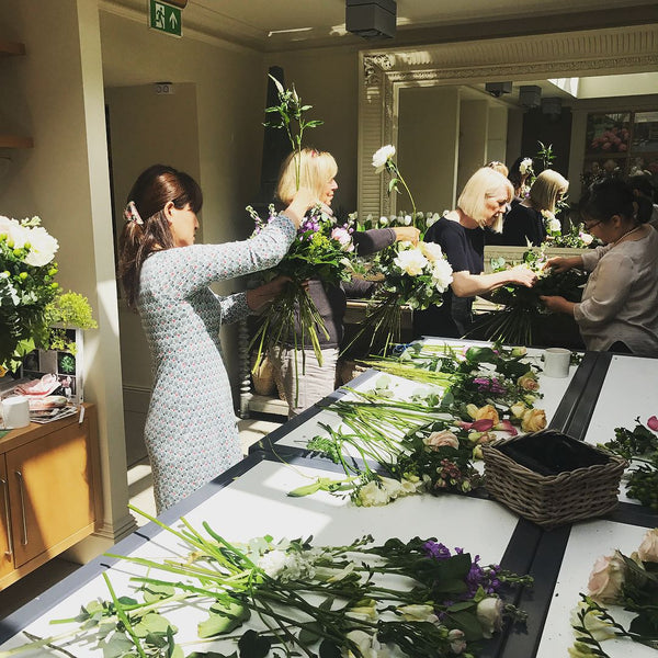 Signature Hand Tied Bouquet Workshop - Cotswolds - 13th February  2021