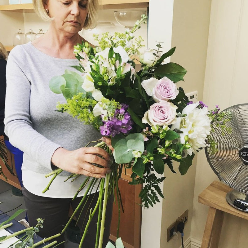 Signature Hand Tied Bouquet Workshop Cotswolds - 20th August