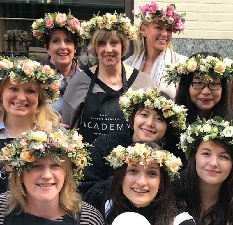 Flower Crown Masterclass - Cotswolds 2nd October 2020