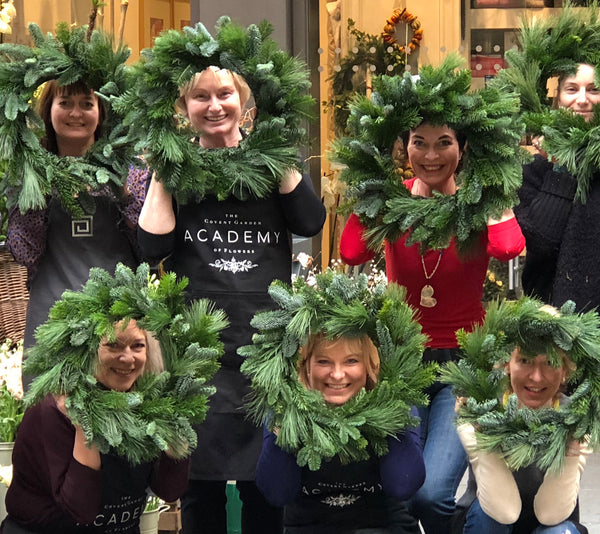 Christmas Wreath Making One Day Course 16th December