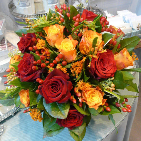 The Fire Bird Bouquet