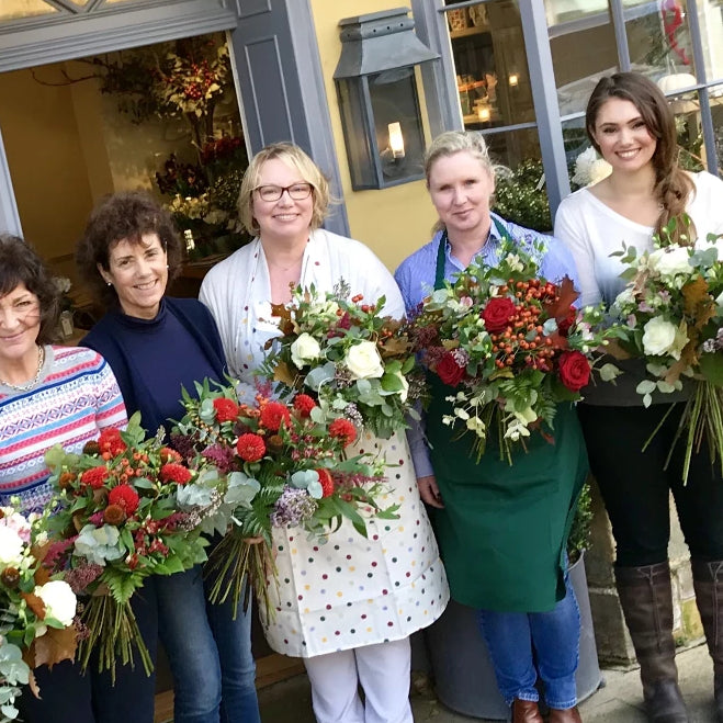 Festive Hand Tied Bouquet Workshop Cotswolds -  30th November