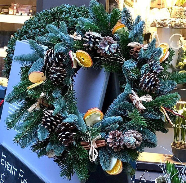 Christmas Wreath Making Course One Day Course 6th December