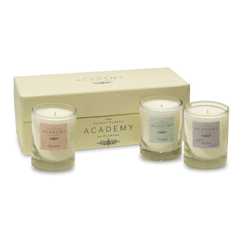 Academy Scented Candle Set