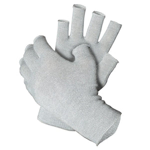Bundle - Deluxe 12% Silver Gloves and 12% Silver Fingerless Gloves - French Melange
