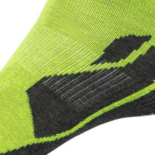Load image into Gallery viewer, Just Silver Apparel - 12% Sports Sneaker Short Silver Socks Neon Green Multipack