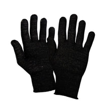 Load image into Gallery viewer, Just Silver Apparel - 12% Silver Gloves/Fingerless - Black