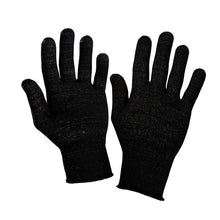 Load image into Gallery viewer, Just Silver Apparel - 12% Silver Gloves - Black Silver