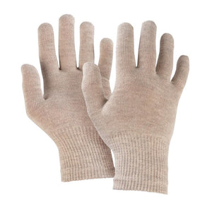 Just Silver Apparel - Silver Gloves - 8% Silver Gloves - Silver Grey