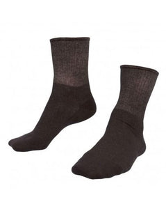 Just Silver Apparel - Short 9% Silver Socks - Black