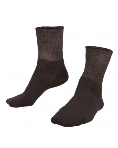 Just Silver Apparel - 9% Short Silver Socks - Black