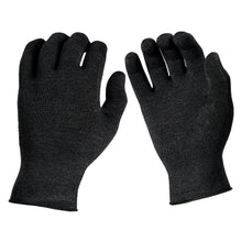 Load image into Gallery viewer, Just Silver Apparel - Deluxe 12% Silver Gloves - Anthracite Black