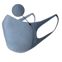 Load image into Gallery viewer, Just Silver Apparel - Deluxe 10% Silver Face Mask - Blue - Silver Fibre