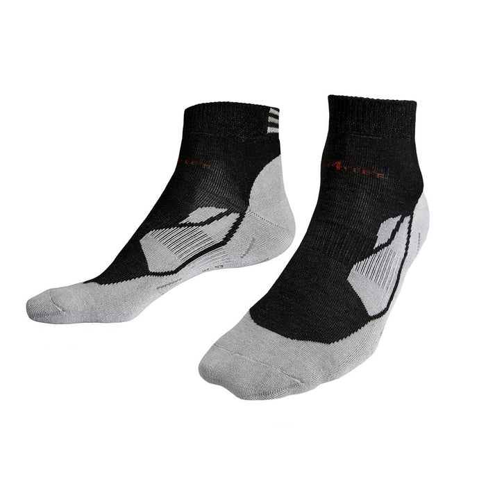 Multipack - Deluxe 12% Silver Sneaker Sports Socks - Neon Black