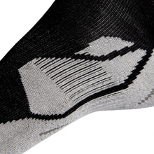Load image into Gallery viewer, Multipack - Deluxe 12% Silver Sneaker Sports Socks - Neon Black
