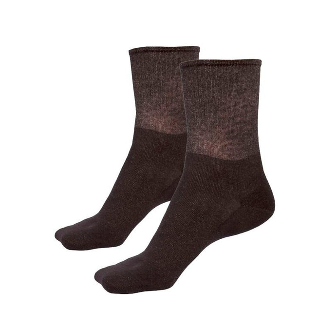 Just Silver Apparel - 9% Short Silver Socks - Black Multipack