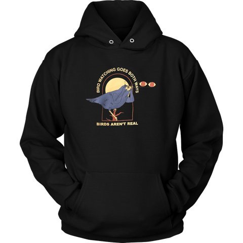 Birdwatching Goes Both Ways Sweatshirt Hoodie