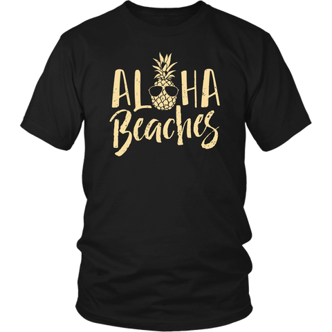 Aloha Beaches Shirt Pineapple