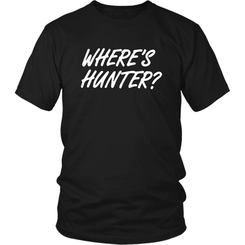 Wheres Hunter T Shirt