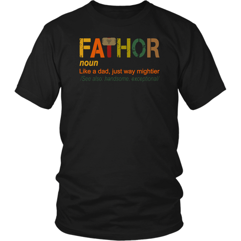 Fathor Noun Shirt