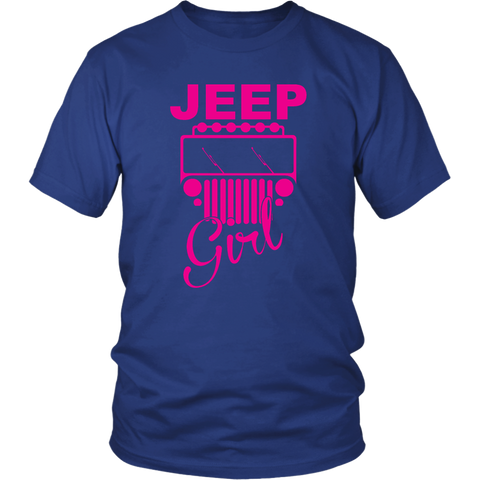 Jeep Girl Shirt Purple Design