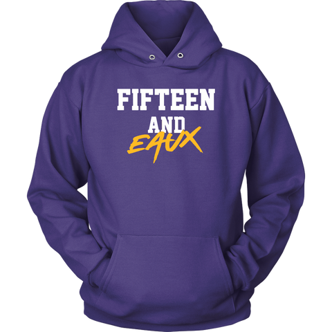 Fifteen and Eaux Hoodie Lsu Championship Sweatshirt