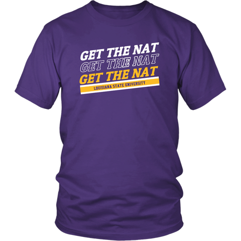 Get The Nat Shirt Lsu Championship