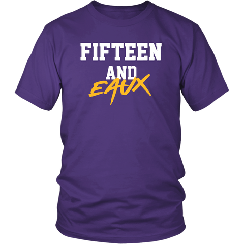Fifteen and Eaux Shirt Lsu Championship