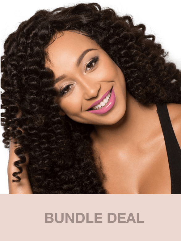 Virgin Mongolian Tight Curly (Kinky Curly) - BUNDLE DEAL
