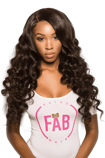 Virgin Brazilian Loose Wave Bundle - Kaye's Fab Hair