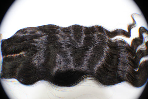 Virgin Brazilian Loose Wave Silk Base Closure - Kaye's Fab Hair