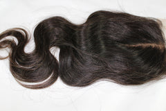 Virgin Brazilian Body Wave Silk Base Closure