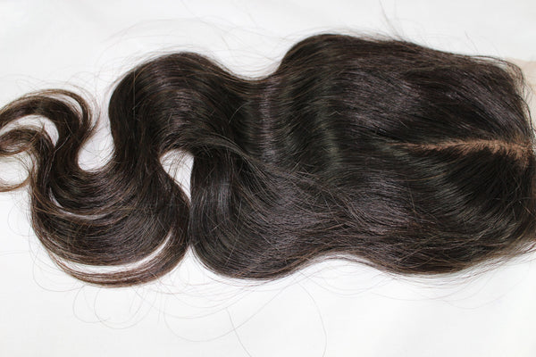 Virgin Brazilian Body Wave Silk Base Closure - Kaye's Fab Hair