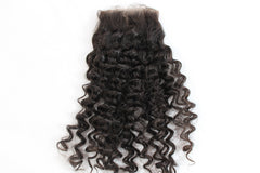 Virgin Brazilian Loose Curly Lace Closure