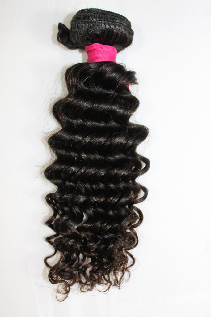 Virgin Brazilian Loose Curly Bundle - Kaye's Fab Hair