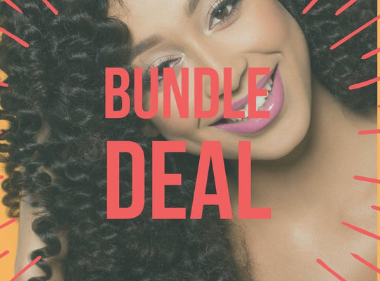 Virgin Mongolian Tight Curly - BLACK FRIDAY BUNDLE DEAL - Kaye's Fab Hair