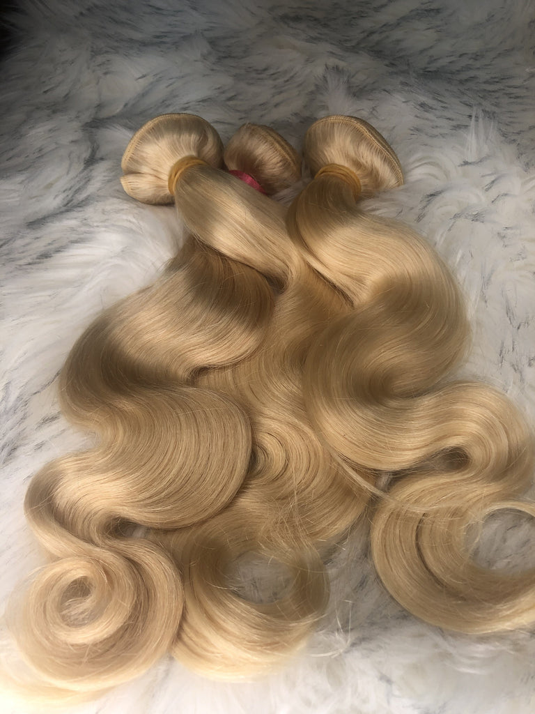 Blonde Bomb Shell (Blonde Bundles) - Kaye's Fab Hair