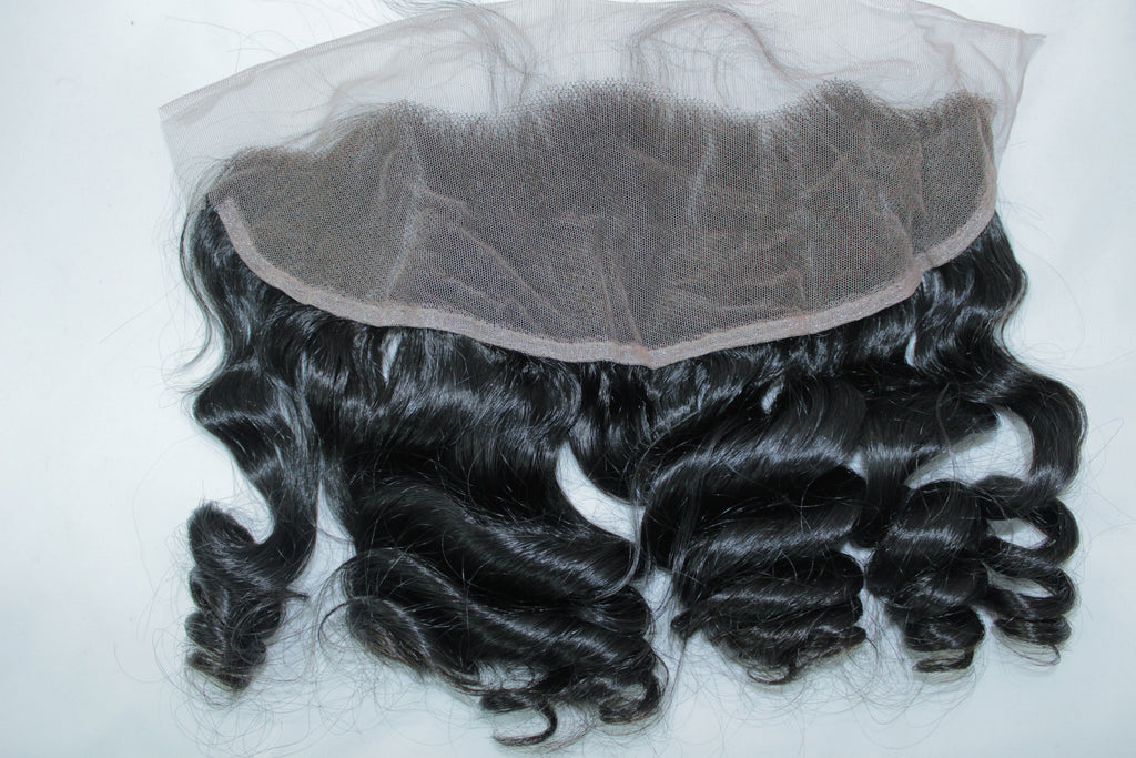Brazilian Loose Wave Lace Frontal - Kaye's Fab Hair