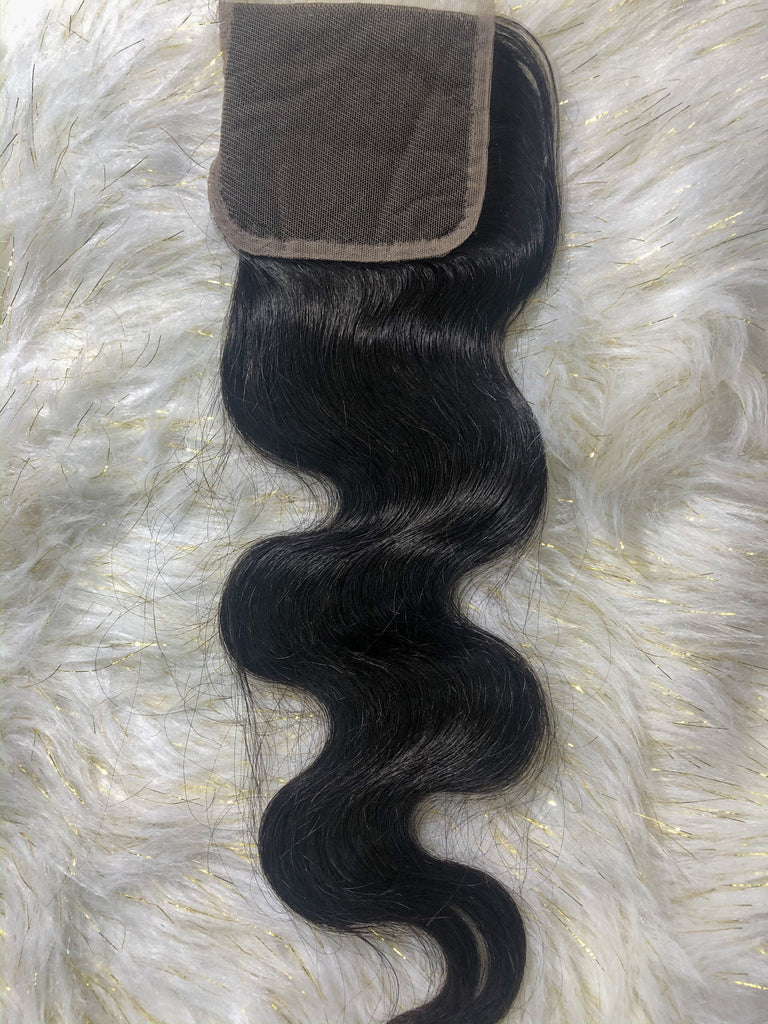 Body Wave HD Lace Closure - 4x4 & 5x5 - Kaye's Fab Hair