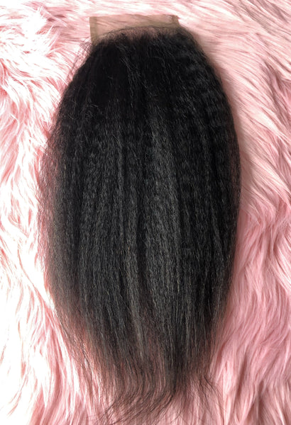 Blow Out Lace Closure - Kaye's Fab Hair