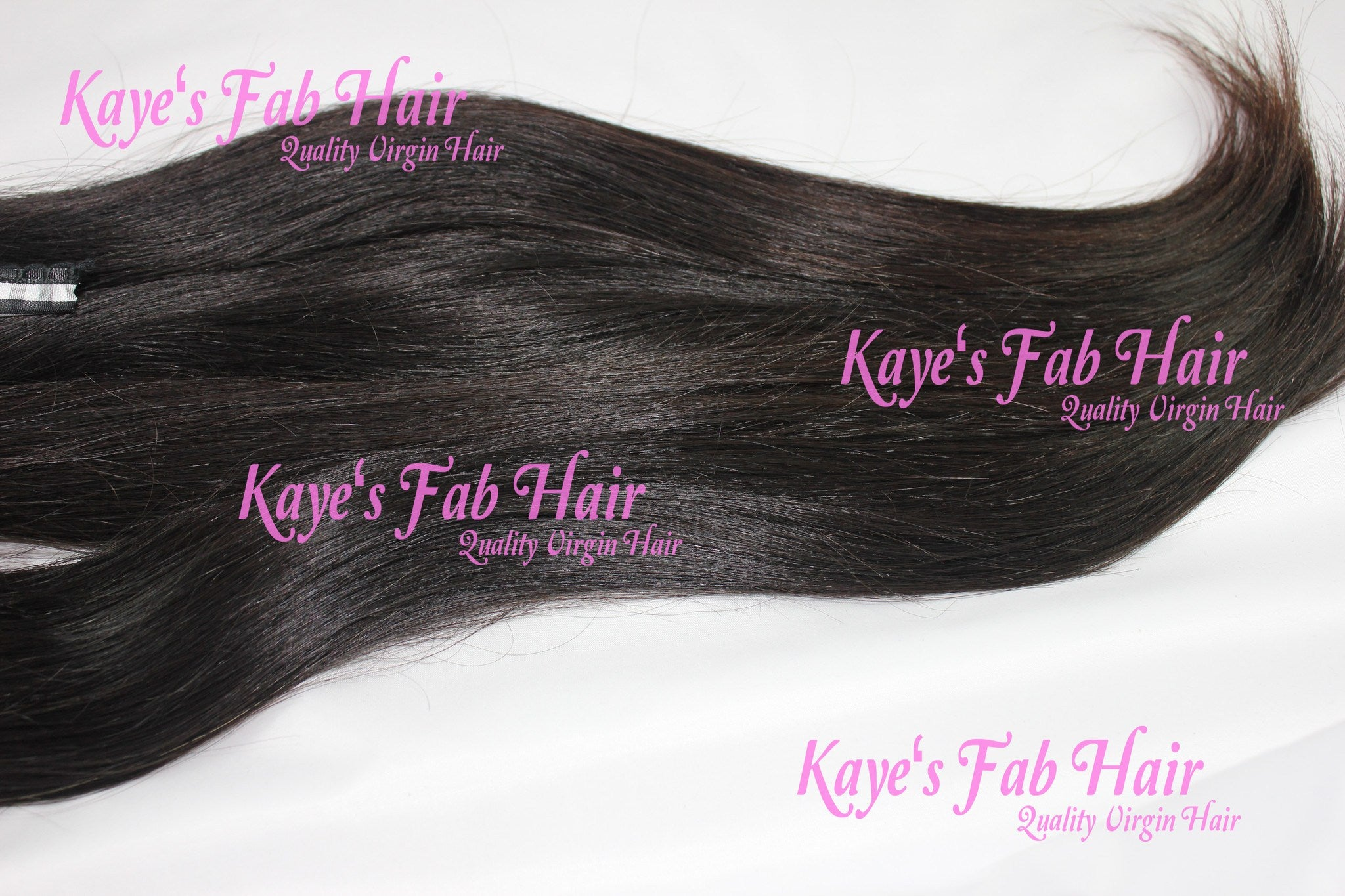 Virgin Brazilian  Straight Bundle - Kaye's Fab Hair