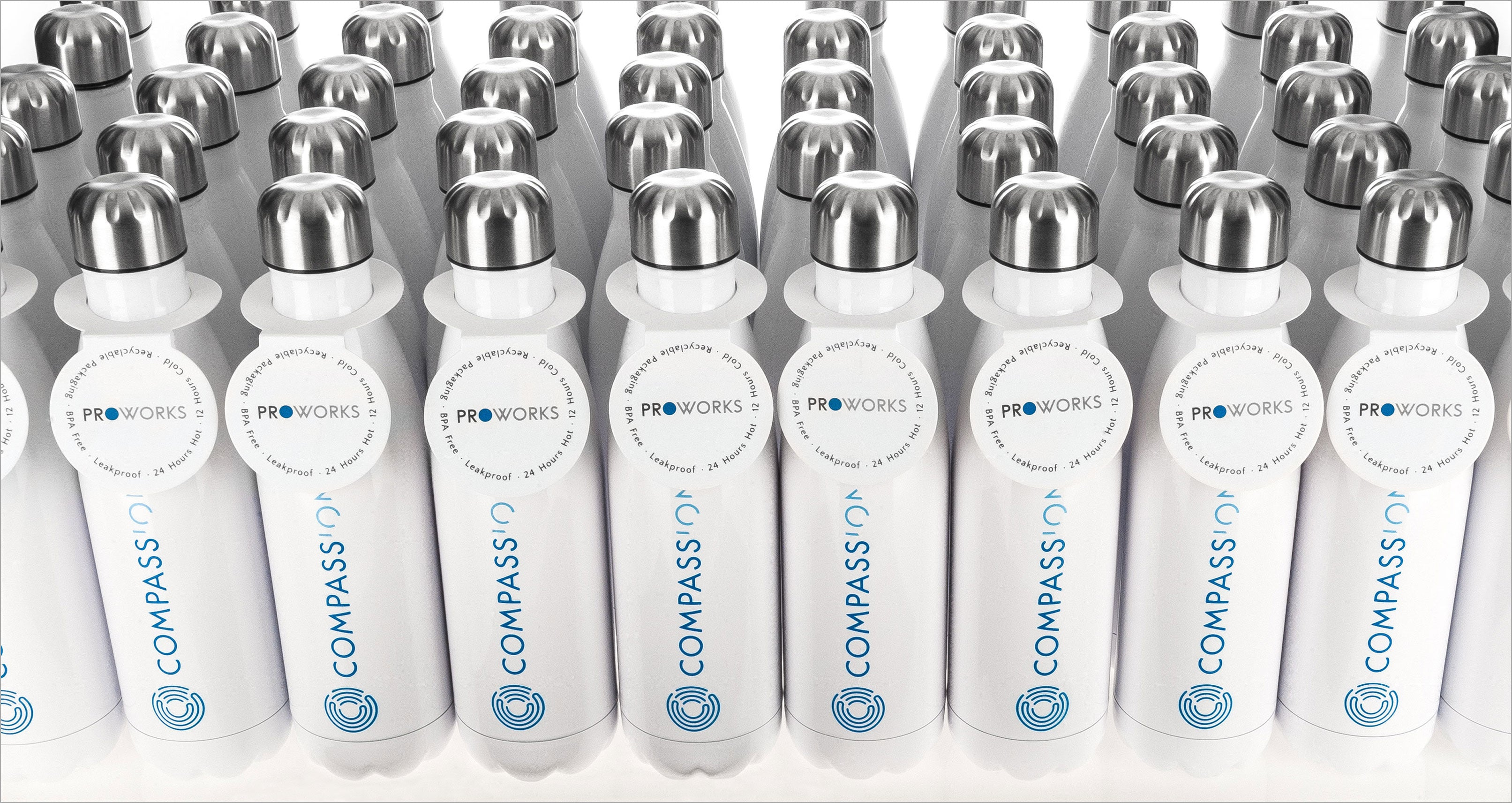 Proworks Co-Brand Water Bottles