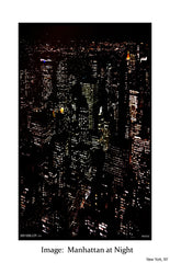 Manhattan at night - Image: City view from 30 Rock, NYC