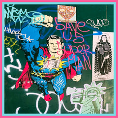Soho Graffiti Scarf.  Image: Taken in Manhattan, New York City